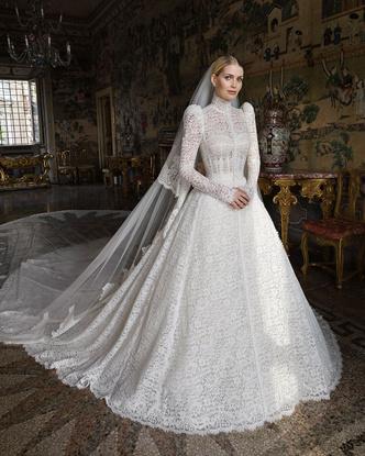 Китти Спенсер, свадебное платье, фото