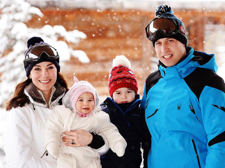 Фото №3 - Это семейное: принц Джордж встал на горные лыжи
