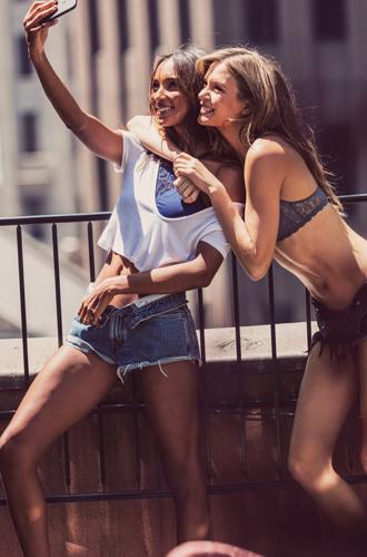 Фото №11 - Новая коллекция бралеттов Victoria's Secret