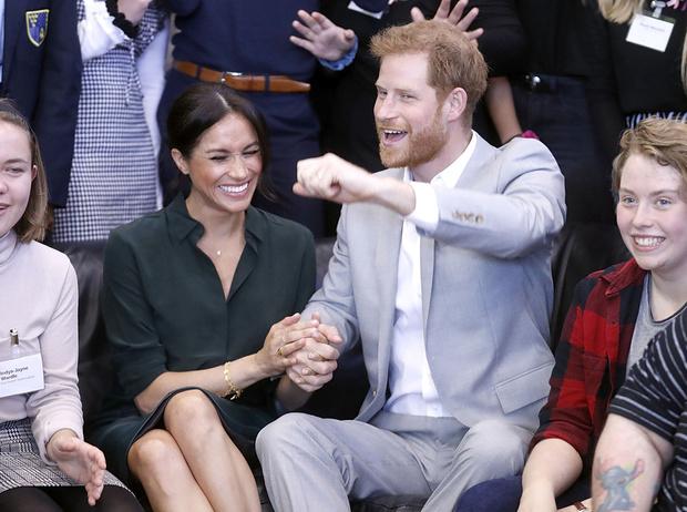 Фото №5 - Гарри и Меган – самая нежная королевская пара Великобритании