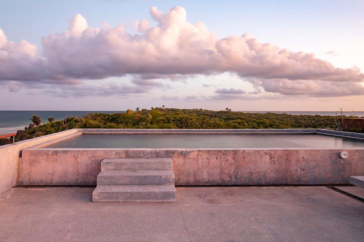 Фото №8 - Бетонный дом на побережье Карибского моря в Тулуме