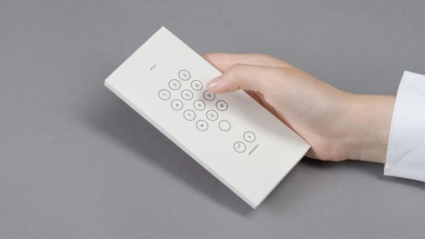 Фото №1 - Концепт: конверт, превращающий твой смартфон в «бабушкофон»
