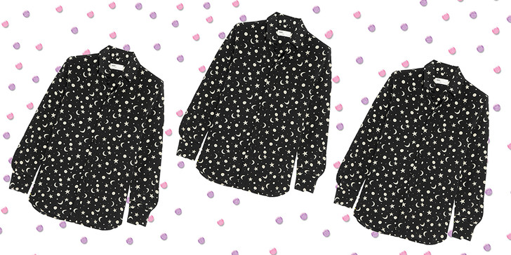 Фото №2 - Дорого-дешево: Рубашка со звездным принтом