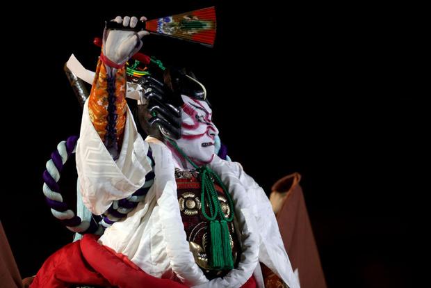 Фото №7 - Танцы ча-ча-ча, выступление актеров кабуки: как прошло открытие Олимпиады-2020 [прямая трансляция]