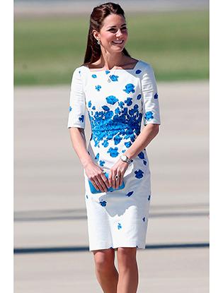 Фото №2 - Кейт Миддлтон названа главной модной иконой в Британии 2014 года