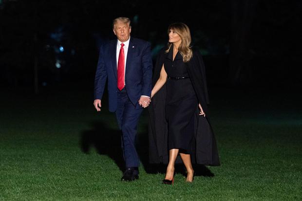 Фото №27 - Большая разница: как менялся стиль Мелании Трамп во время президентских кампаний мужа