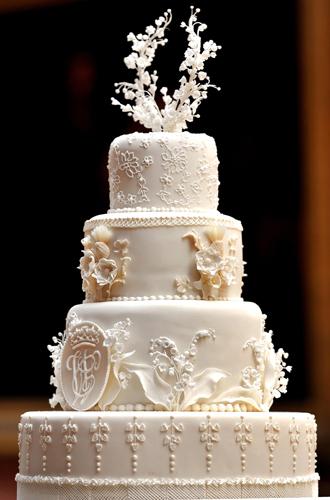 Фото №21 - Сладко: свадебные торты на королевских свадьбах