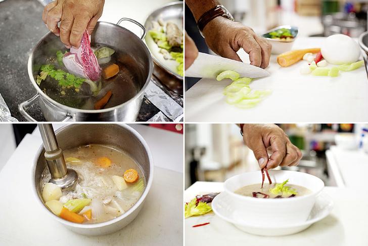 Фото №3 - В общем котле: пошаговый рецепт креольского супа ахиако