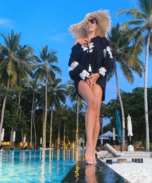 Фото №6 - 38-летняя Ксения Собчак оголила идеальные ноги