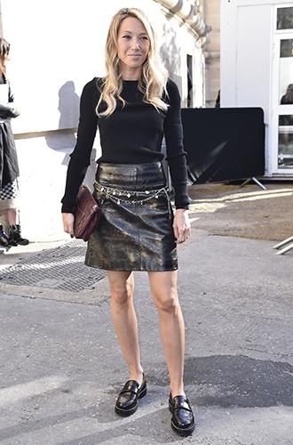 Фото №9 - Как носить самые модные юбки сезона: мастер-класс от звезд street style хроник