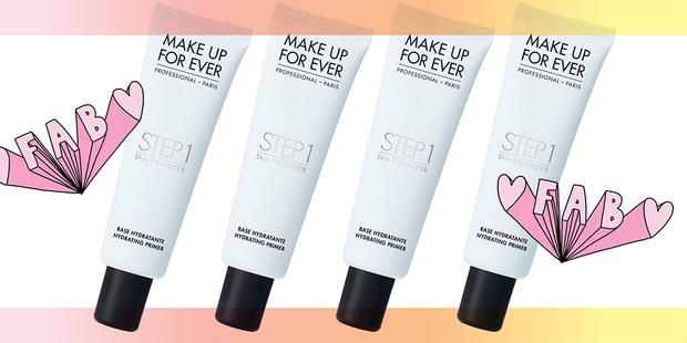 Основа под макияж, придающая сияние Step 1 Skin Equalizer, Make Up For Ever