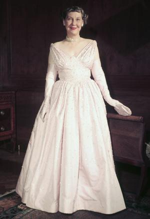 Фото №2 - Королевы Белого дома: самые роскошные инаугурационные платья Первых леди