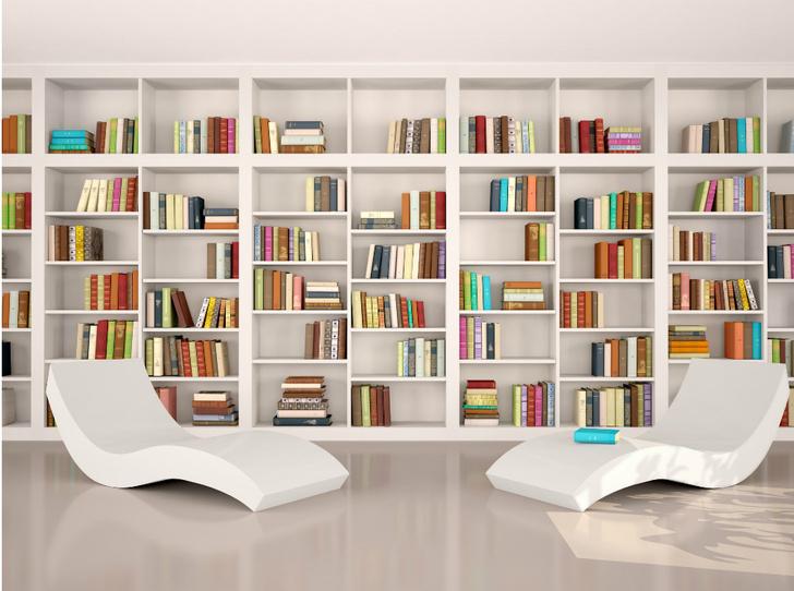 Фото №1 - Здесь живут книги: как красиво оформить домашнюю библиотеку