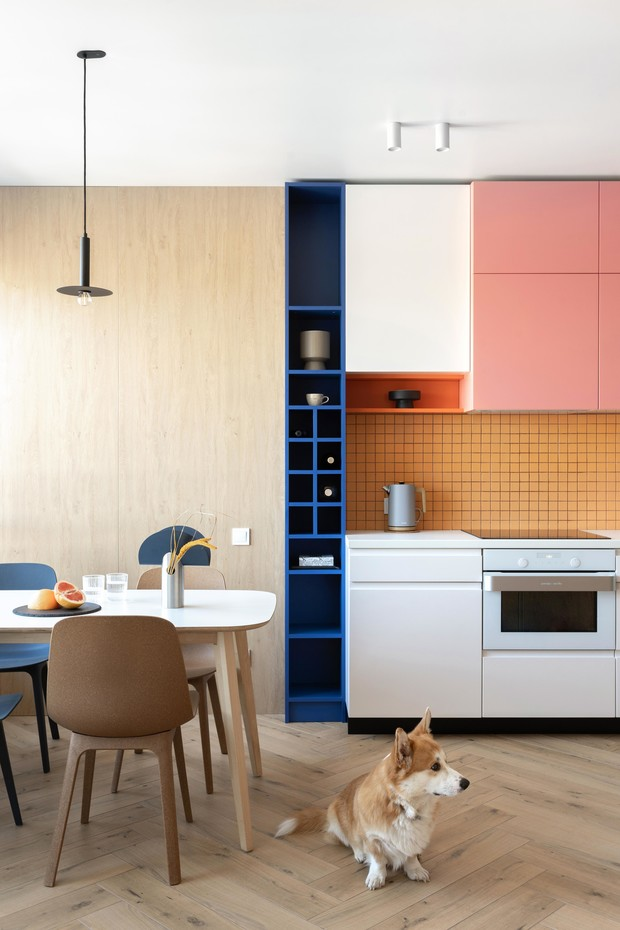 Фото №1 - Яркая квартира для молодой семьи в Киеве 75 м²