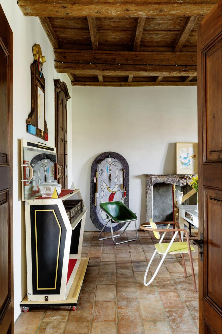 Фото №6 - Дом художника: арт-вилла в Италии
