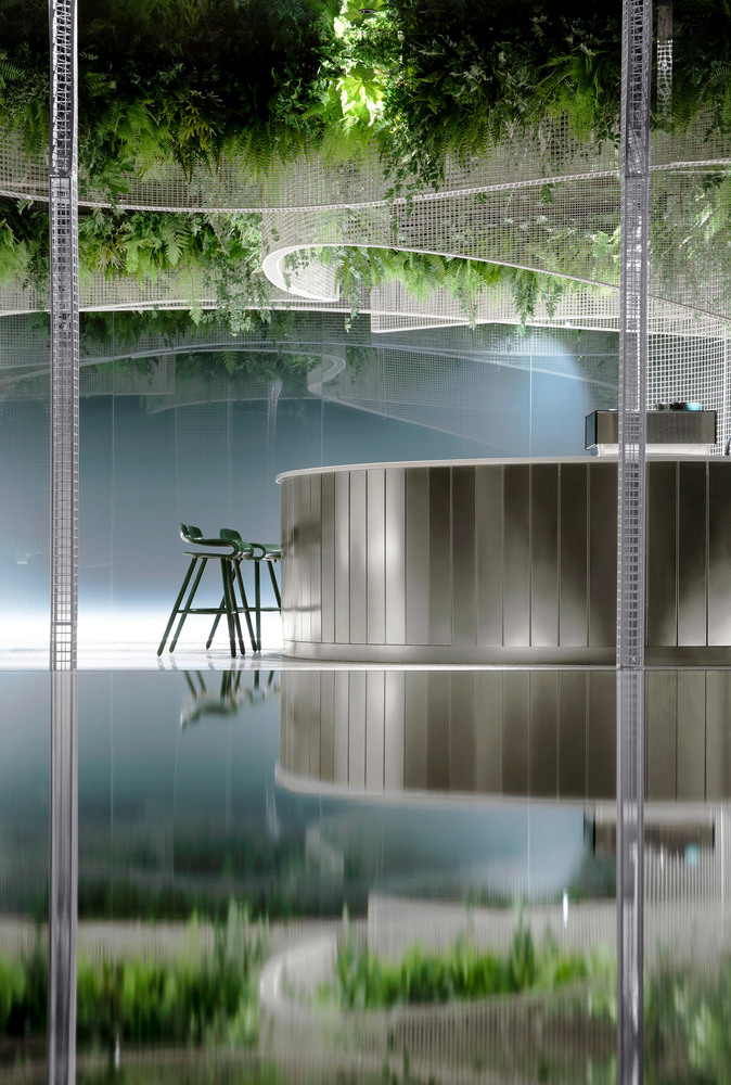 Фото №7 - Кофейня с «парящим» садом в Гуанчжоу