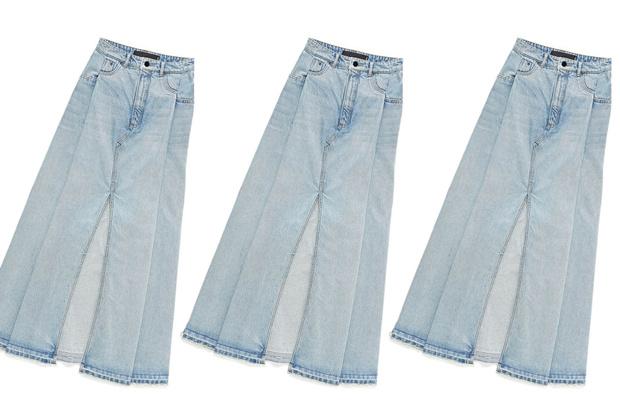 Фото №1 - Дорого-дешево: Джинсовая юбка