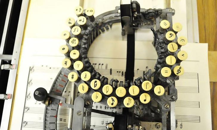 The Keaton Music Typewriter