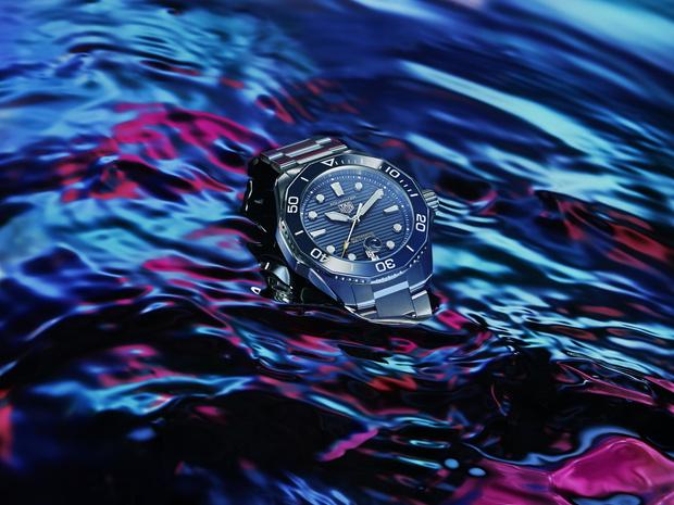 Фото №2 - Морская стихия: TAG Heuer представил новые часы Aquaracer Professional 300
