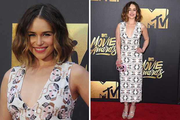 Эмилия Кларк MTV Movie Awards 2016