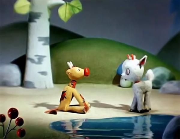 Кадр из социологического мультфильма «Козлёнок, который считал до десяти»