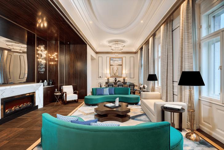 Фото №2 - Обновленный отель-дворец Matild Palace в Будапеште