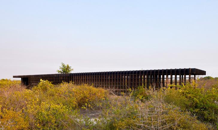 Фото №8 - Курятник по проекту Кенго Кумы в Мексике