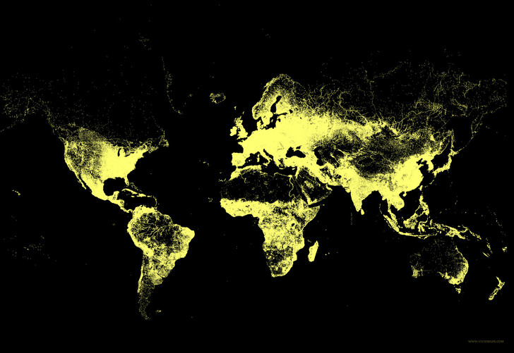 Фото №8 - 8 карт, на которых показана вся инфраструктура Земли