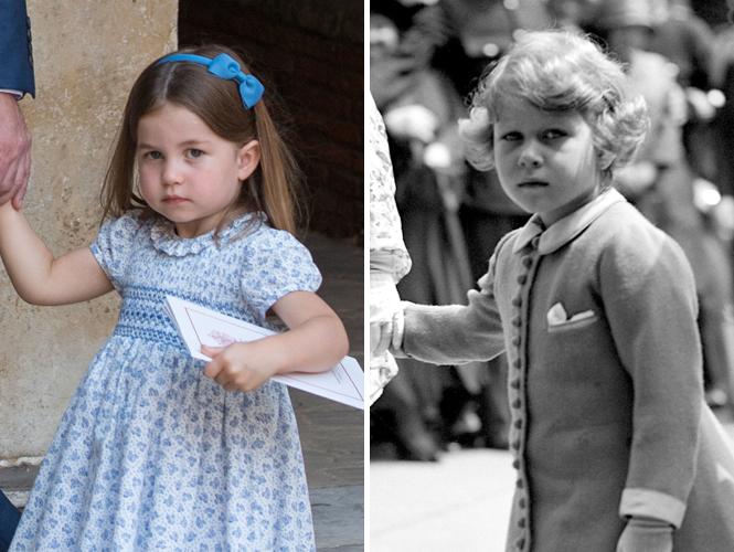 Фото №7 - Глаза Дианы, улыбка Елизаветы: с кем теперь сравнивают принцессу Шарлотту
