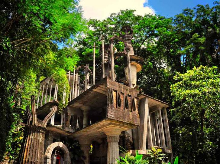 Фото №3 - Скульптурный парк Лас-Посас: сюрреалистический сад в мексиканских джунглях