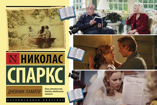 «Дневник памяти», Николас Спаркс