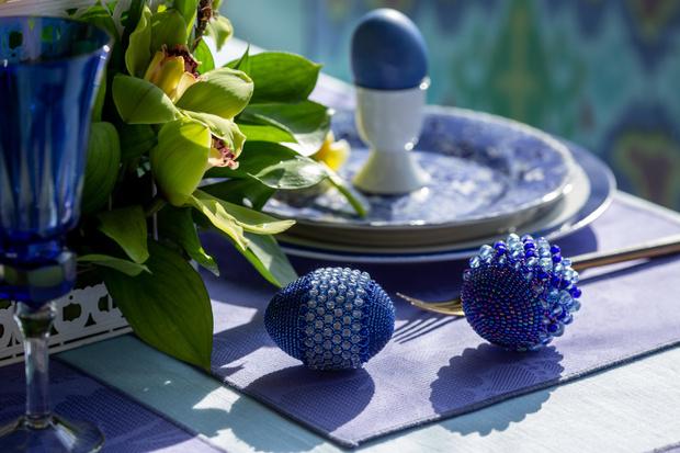 Фото №22 - Украшаем стол к Пасхе: идеи декора от Анны Муравиной