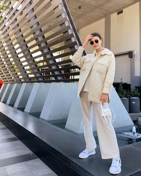Фото №1 - Тренд весны 2021: стеганые куртки-рубашки