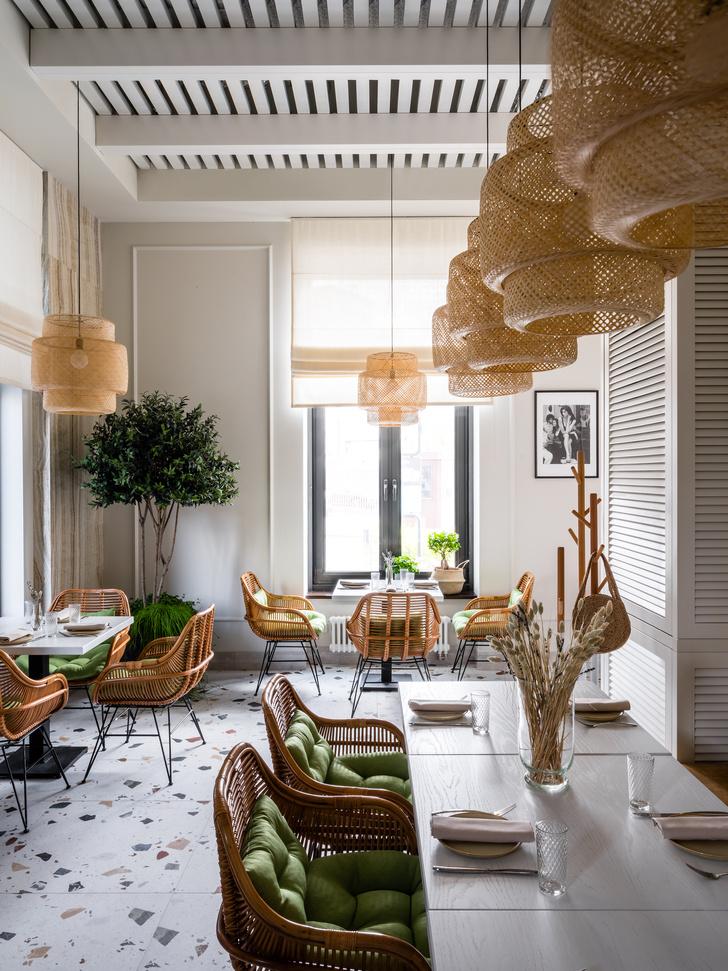 Фото №9 - Уютное кафе в средиземноморском стиле в Москве