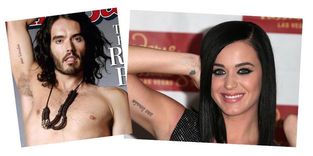 Фото №7 - Это по любви: звездные пары, которые сделали парные татуировки