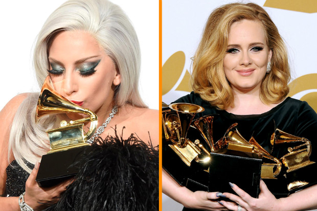 Леди Гага, Адель