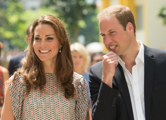 Фото №1 - Принц Уильям и Кейт Миддлтон отметили день рождения сына пиццей