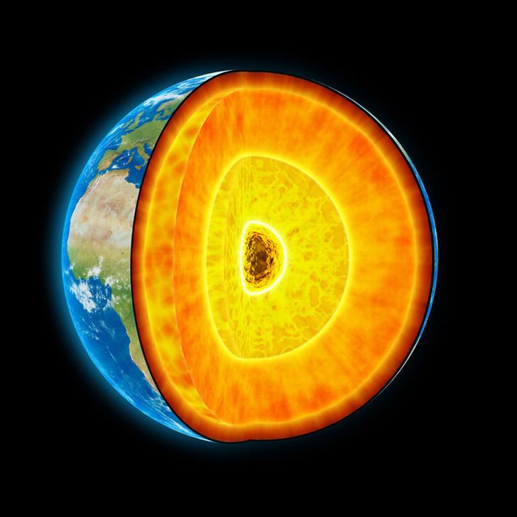 Фото №1 - Почему ядро Земли не остывает?