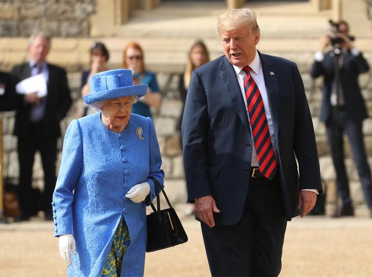 Фото №1 - Дональд Трамп готовится к встрече с Королевой (и уже допускает первую ошибку)