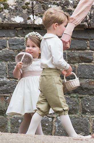 Фото №10 - Принцесса Шарлотта и принц Джордж на свадьбе Пиппы Миддлтон (фото)
