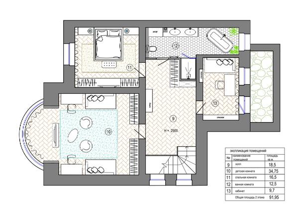 Фото №17 - Квартира 183 м² для семьи путешественников в Екатеринбурге