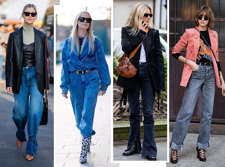 Фото №1 - Скинни, клеш и рваные: самые модные джинсы весны 2020