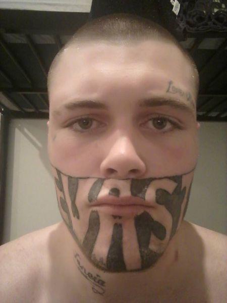 Фото №4 - Самые татуированные люди, которые смогли найти нормальную работу (фото)