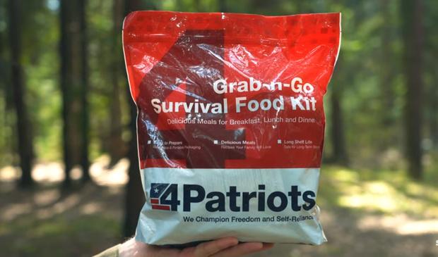 Фото №2 - Сухпаек для выживания в США. Необычайный обзор с дегустацией и фото