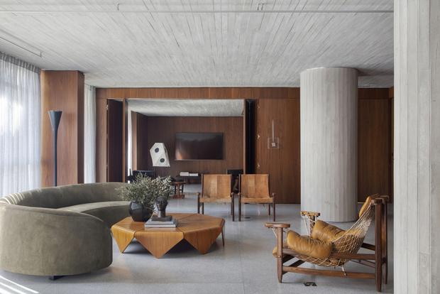 Фото №1 - Апартаменты с коллекционным дизайном в Сан-Паулу