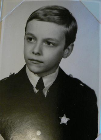 Актер Максим Щеголев— таким он был октябренком…