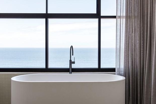 Фото №11 - Минималистичный пентхаус с видом на океан в Мельбурне