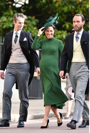 Фото №20 - Самые стильные гости на свадьбе принцессы Евгении и Джека Бруксбэнка