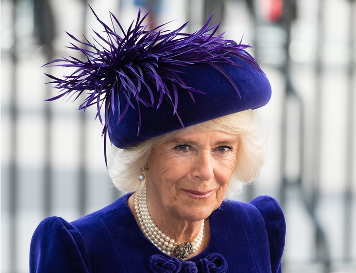 Фото №2 - Герцогиня Эпатаж: самые невероятные шляпы Камиллы