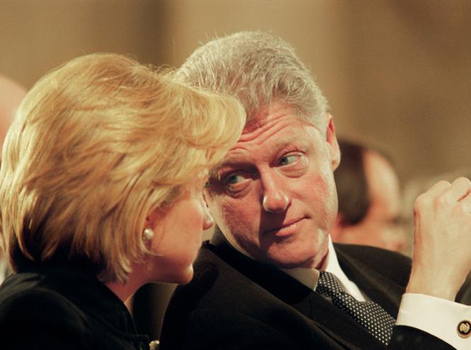 Фото №10 - Билл и Хиллари Клинтон: свободные отношения и слезы бывшей первой леди
